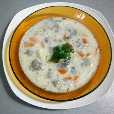 Meatball soup - Supa Topcheta
